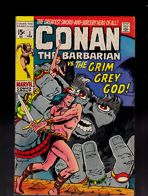 Conan the Barbarian 3 Barry Smith Solid Condition