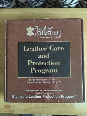 Leather Master by Dr. Tork Leather care and Protection Program