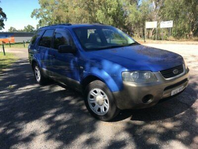 2004 Ford Territory SX TX (RWD) Blue Automatic 4sp A Wagon