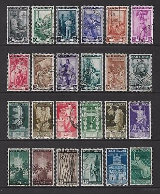 ITALY mixed collection No.22, incl Provincial Occupations, used