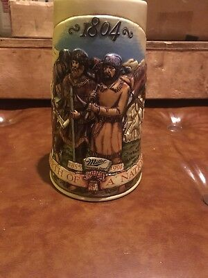"Miller Draft Beer Mug/stein 1994"" Birth Of A Nation ""perfect Condition"