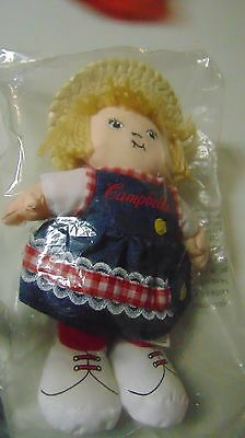 "Campbell's Soup Kids Chef Plush Toy Doll Girl  8"" Tall"