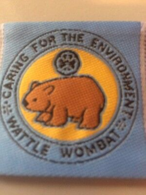 Girl Guides / Scouts Wattle Wombat Blue