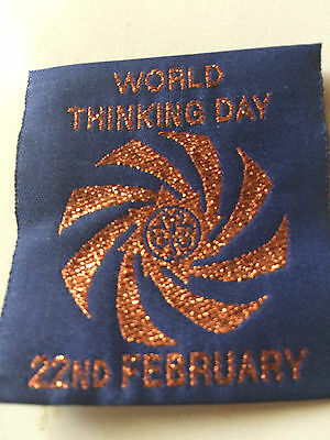 Girl Guides / Scouts Thinking Day bronze