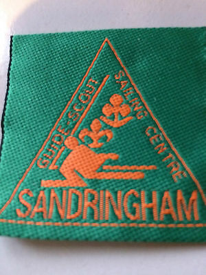 Girl Guides / Scouts Sandringham Sailing Centre