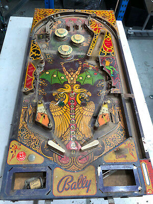 Lost World Bally  Pinball Playfield Only