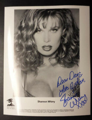 SHANNON WHIRRY Autographed 8x10 Photo ~ Personalized to Doug