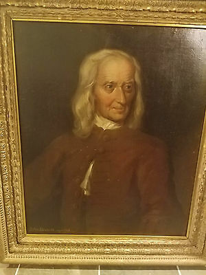 Late 18th C, Early 19th Century  Antique Portrait Oil Painting c 1790