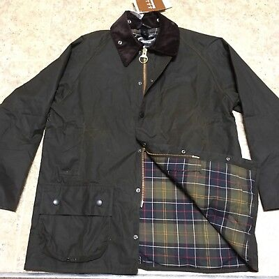Barbour Classic Beaufort Wax Jacket New with tags size 42 M/L England filson