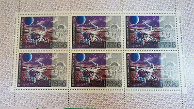 1972 Russian Stamp release 15 years of Space Mint never Hinged/MNH