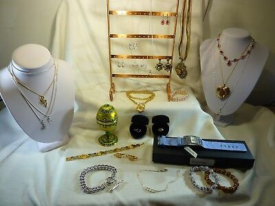 Auction Bulk Lot Musical Egg Assorted Fashion,Silver Jewellery + More