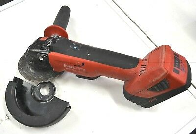 USED HILTI AG 125-A22 Cordless angle grinder 125mm WITH 1 BATTERY FROM $1.00