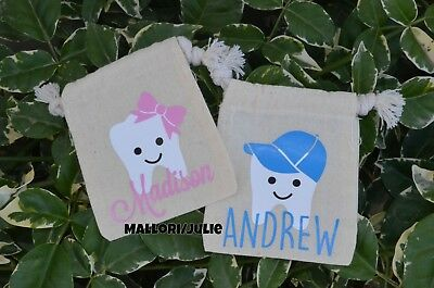 Girl/Boy Tooth Fairy Bag/Pouch Personalized Tooth Fairy Bag/Pouch - Keepsake