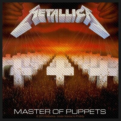 Metallica Master Of Puppets Patch Official Heavy Metal Band Merch New