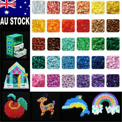 1000pcs/Set HAMA/PERLER Beads for GREAT Kids Fun DIY Craft 29 Colors 5mm