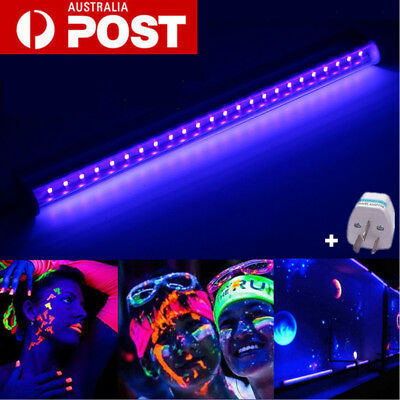 T5 30cm Black Light Bar UV LED 395nm Blacklight Stage Party Club Halloween Lamp