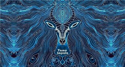 """Tame Impala Psychedelic Rock Music Band Cover 44x24"""" Poster fabric Print Art 13"""