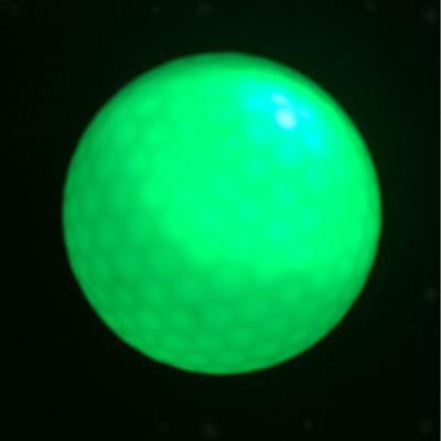 Durable Glow In Dark LED Light Up Golf Ball Official Size Tournament Ball