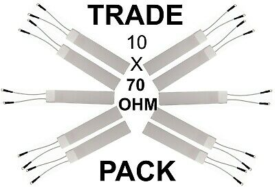 70 Ohm Ghd Compatible Chauffage pour SS4 Large Plaque Correct Taille 20mm X 70mm