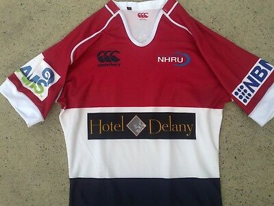 Newcastle Wildfires Hunter Rugby Union player issue REP jersey  XL