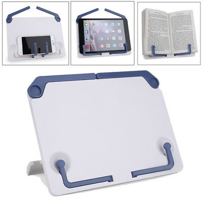 Foldable Desktop Sheet Music Stand Support Adjustable Table Book Read Holder ZY