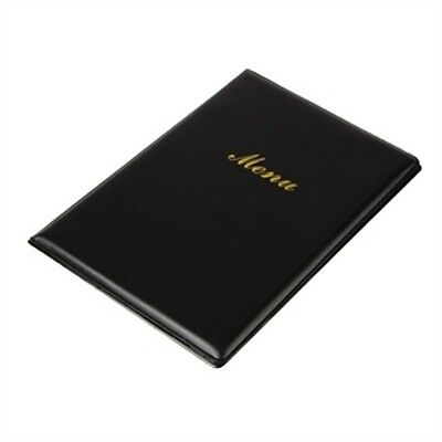 MENU COVER HOLDER BLACK PVC A5 Restaurant Cafe Hotel Table RE219