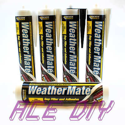 Everbuild WeatherMate Multi Use Flexible Gap Sealant C3 310 ml | Bitumen Asphalt