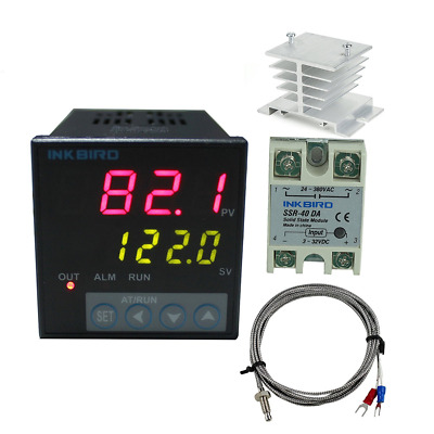 Inkbird F Display PID Temperature Controllers Thermostat ITC-106VH, K Sensor