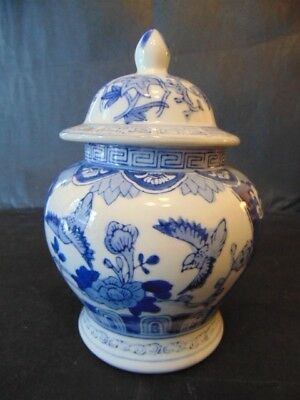 Chinese Lidded Urn In Good Condition