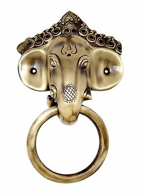 Door Knocker Brass Vintage Solid Antique Ganesha Ring Door Handle Victorian Styl