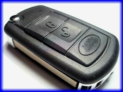 New 3 Button Flip Remote Key Fob Land Rover Discovery Iii Range Rover Sport