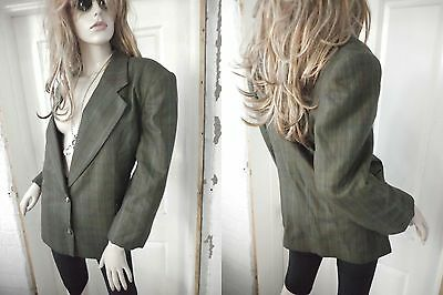 Vintage CooL~ Pure New Wool INDIE RocK~COUNTRY ROAD~Boyfriend BLAZER/Jacket~12