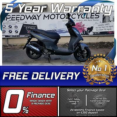 Sym Symply 2 125cc scooter moped learner legal commuter