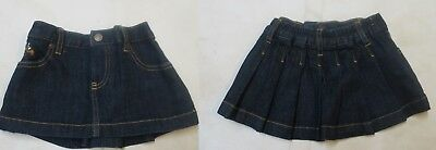 baby girls designer skirt denim  9 12 18 months *NEW*  BARGAIN
