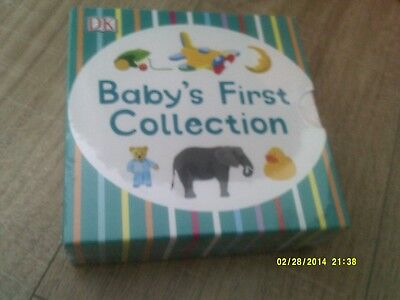 babies first collection of books, hard back, unopened
