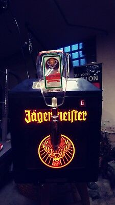 Jagermeister 3 bottle Ice Cold Shots Tap Machine used