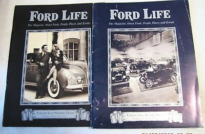 Ford Life Magazine 1972 and 1971