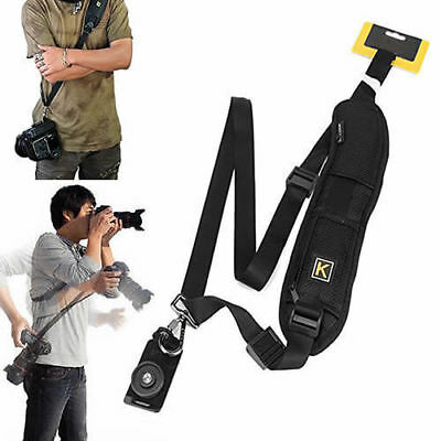 Quick Sling Camera Single Shoulder Belt Strap SLR DSLR Camera Fujifilm