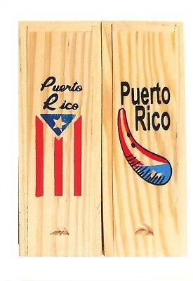 Lot of 2 Puerto Rico Double Six Dominos Dominoes Boricua Rican * TRAVEL SIZE *