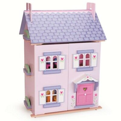 Le Toy Van Bellas House Doll House with Furniture