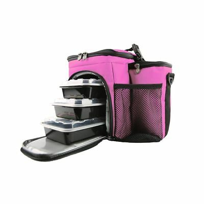 Isolator Fitness ISO Bag 3 meals Prep Cooler Management Insulated Gym Lunch Bag