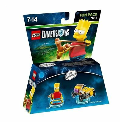 Lego Dimensions - The Simpsons - Bart Fun Pack 71211