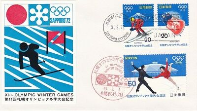 Japan/Nippon FDC ? Olympiade Sapporo 1972
