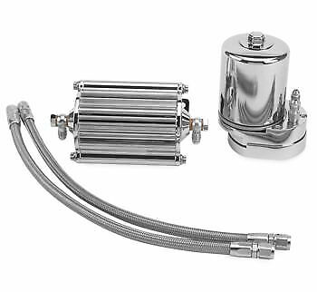 Feuling - 2000 - Oil Filter Cooler, Chrome