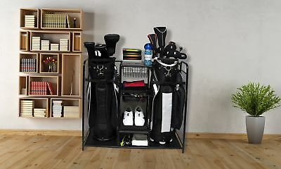 Golf Bag Storage Organizer Rack Club Equipment Holder New Accessories  Sports NEW