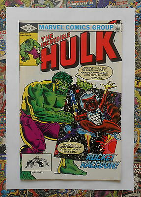 INCREDIBLE HULK #271 - MAY 1982 - 1st ROCKET RACCOON APPEARANCE! - NM (9.4) HOT