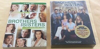 Brothers And Sisters Complete First Season & Second Season DVD Sets USED & NEW