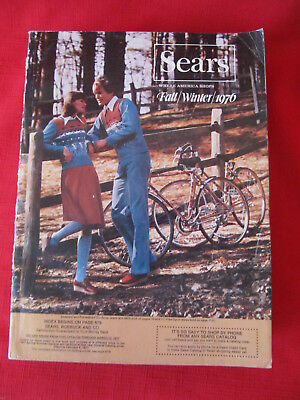 Vintage 1976 SEARS Fall/Winter Catalog