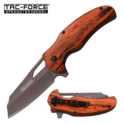 TAC-FORCE Spring Assisted Open EDC Tactical Folding Rescue Pocket Knife NEW