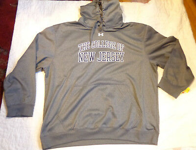 Nwot Under Armour Storm Cold Gear,ncaa,tcnj,college Of Nj,3Xl Men,hoodie Sweater